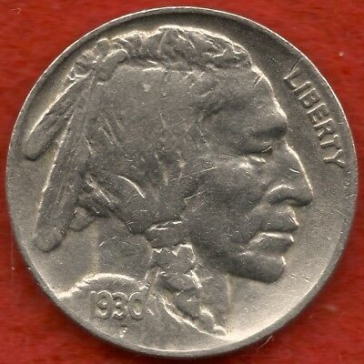 1930-P   Buffalo   Nickel     ( Free Shipping - Very Low Mintage )