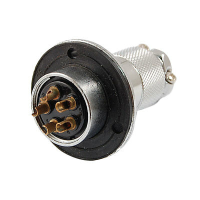 25A 5 Pin Waterproof Electrical Deck Circular Cable Connector
