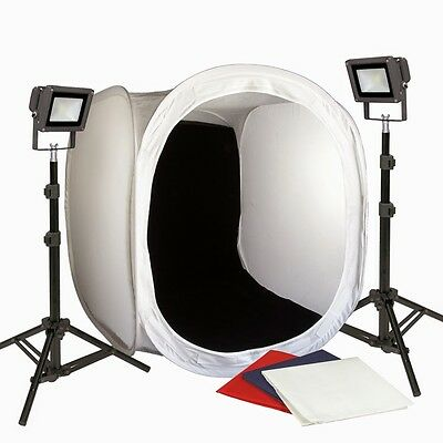 PBL 30in LED Photo Tent All Metal Body No Plastic Steve Kaeser Photographic