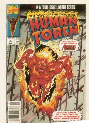 1st Covers Series 2     Human Torch       Trading Card No 79