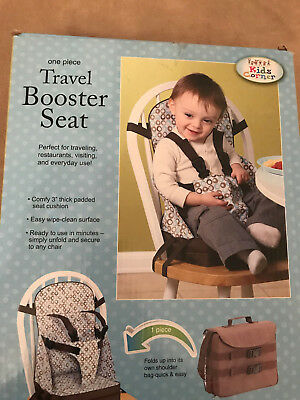 Kids Corner Travel Booster Seat, New In Box