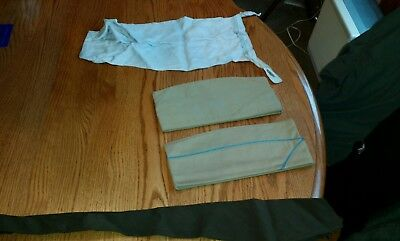 Used WW2 Korea Vintage US ARMY GARRISON HATS 1950'S AND OTHER stuff