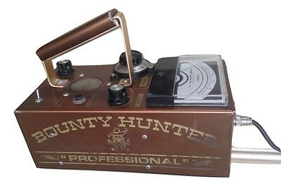 """Bounty Hunter """"Professional"""" By PNI Inc ~ Vintage ~ Metal Detector ~ w/ Headset"""