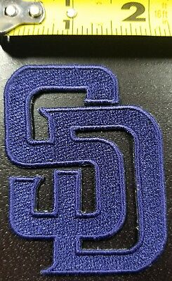 """San Diego Padres MLB 3"""" Iron/Sew On Embroidered Patch~FREE SHIPPING FROM U.S."""