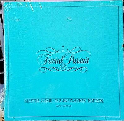 Trivial Pursuit Master Game 1984 Young Players Edition Coleco