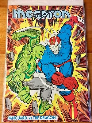Megaton #2 #3 #4  FIRST SAVAGE DRAGON SIGNED by ERIK LAWSON Certification