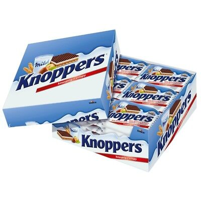 (10,48€/1kg) Storck Knoppers Milch-Haselnuss-Schnitte, 24 Riegel