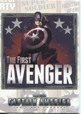Captain America The Movie Poster Series Chase Card P-2