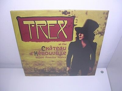 """T. Rex (Marc Bolan) - At The Chateau D'herouville Ltd Yellow 10"""" Single Mint"""
