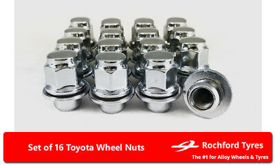 Original Style Wheel Nuts (16) 12x1.5 Nuts For Toyota Corona [Mk5] 73-79
