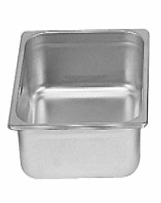 "1 Stainless Steel 1/2 Half Size 4"" Deep Anti-Jam Steam Table Food Pan NSF"