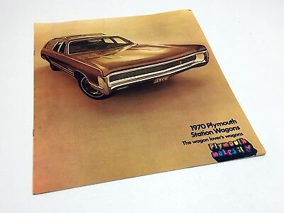 1970 Plymouth Fury Belvedere Wagons Brochure