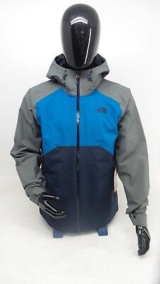The North Face Men's Stratos Jacket Navy, Blue, & Gray -New with Tags-
