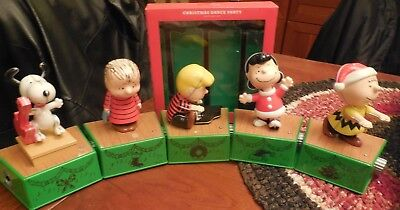 2017 Hallmark Peanuts Christmas Dance Party with 3 Spot LIGHTS & 5 BAND MEMBERS