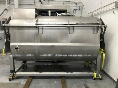 100 Cubic Foot Ribbon Blender , Food Grade , Stainless Steel , Jacketed , APV