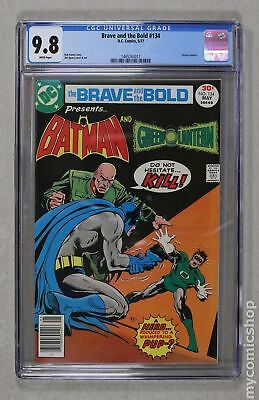 Brave and the Bold (1st Series DC) #134 1977 CGC 9.8 1465743017