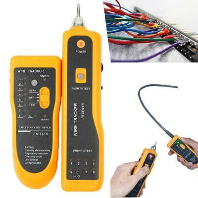 Miraculous Cable Tester Telephone Wire Lan Tracker Stp Utp Rj45 Rj11 Bnc Wiring Digital Resources Indicompassionincorg