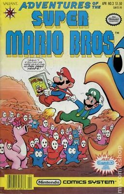 Adventures of the Super Mario Brothers #3 1991 FN Stock Image