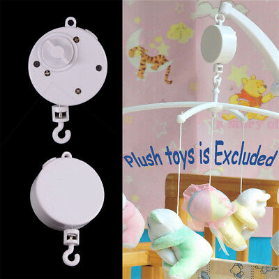 Rotary Baby Infant Kids Mobile Crib Bed Bedding Toy Clockwork Movement Music Box