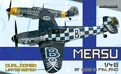 EDUARD 11114 MERSU Bf109G in Finland (Dual Combo) in 1:48 LIMITED!