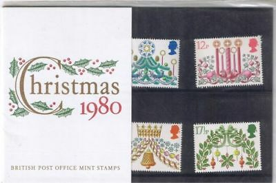 GB 1980 Christmas Presentation Pack VGC. Stamps. Free postage!