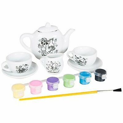 Trolls Paint your own Tea Set