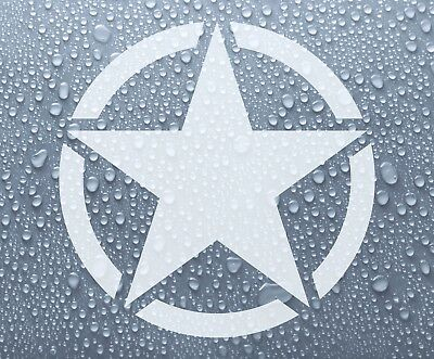 US American Army Star military badge - vinyl decal sticker - Larger sizes