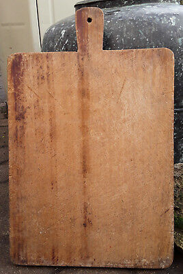 19.29 In Old French Authentic Solid Large Wood Chopping Board