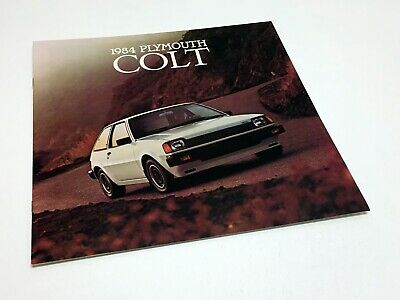 1984 Plymouth Colt Brochure