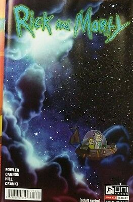 Rick and Morty #13 Variant Green Fowler Cannon Oni Comic Book NM