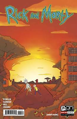 Rick and Morty #13 Regular Fowler Cannon Oni Comic Book NM  wh