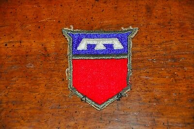 WWII US Shoulder Patch SSI Insignia 76th Division Army Cut-Edge & Original