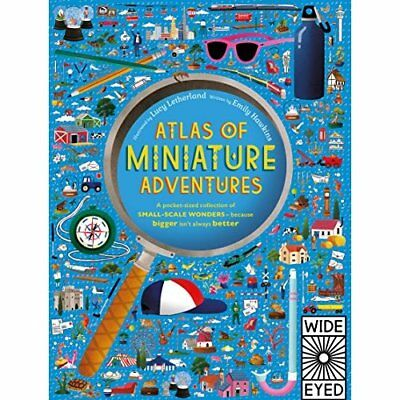 Atlas of Miniature Adventures: A pocket-sized collectio - Hardback NEW Hawkins,