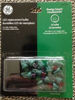 GE LED Replacement Bulbs 12 bulbs in pack