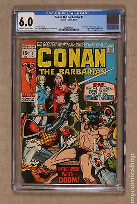 Conan the Barbarian (Marvel) #2 1970 CGC 6.0 1218045001