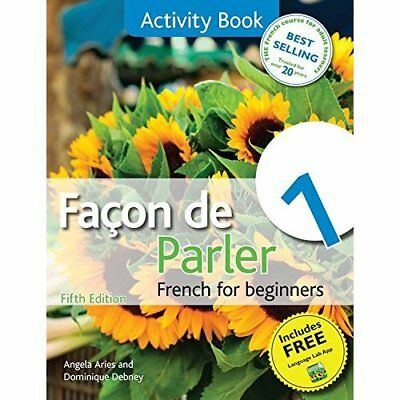 Facon de Parler 1: Activity Book, Coursebook: French fo - Paperback NEW Aries, A
