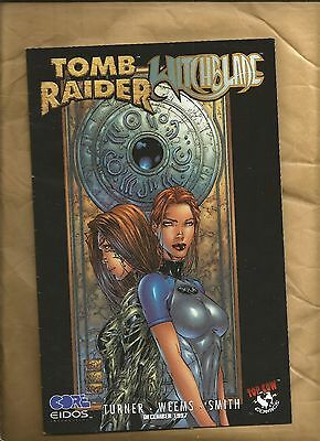Tomb Raider / Witchblade Special 1 FN+ 1997 Turner variant cover Top Cow Comics