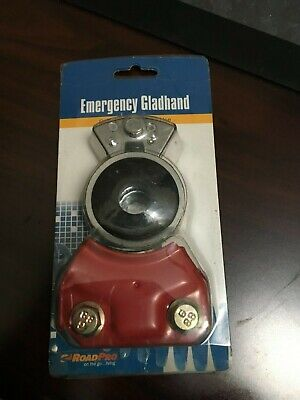 RoadPro Emergency Gladhand Aluminum Design Color Coded Tight Seal ~Fast Shipping