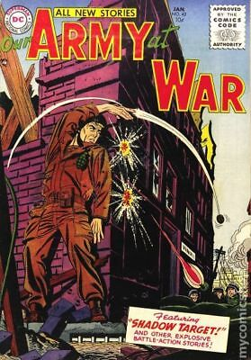 Our Army at War #42 1956 GD+ 2.5