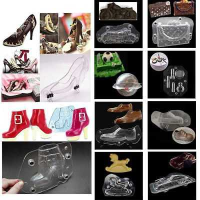 3D High Heels Cake Decorating Moulds Candy Cookies Chocolate Baking Molds DIY