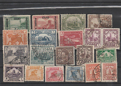 Iraq Iraq Middle East older Postage Stamps mix old Stamps mix Lot Am 5080