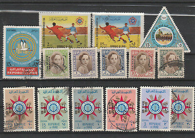 Iraq Iraq Middle East older Postage Stamps mix old Stamps mix Lot Am 5075