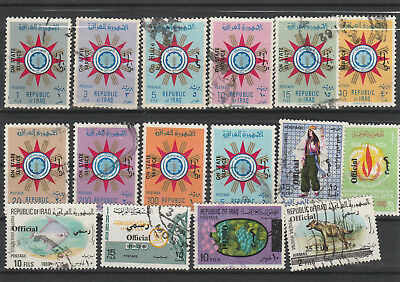 Iraq Iraq Middle East older Postage Stamps mix old Stamps mix Lot Am 5061