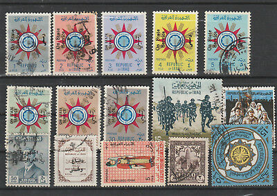 Iraq Iraq Middle East older Postage Stamps mix old Stamps mix Lot Am 5073
