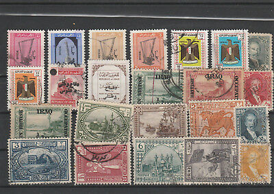 Iraq Iraq Middle East older Postage Stamps mix old Stamps mix Lot Am 5049