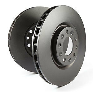 EBC Replacement Front Vented Brake Discs Smart Forfour 1.0 (71 BHP) (2014 on)