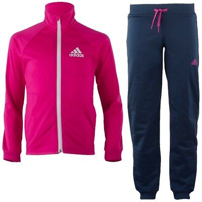 Adidas YG S Entry Kinder Trainingsanzug pink/blau Jogging Training Freizeit NEU