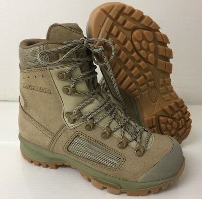 WOMENS LOWA ELITE DESERT COMBAT BOOTS - Size: 6.5 Large , British Army Issue NEW