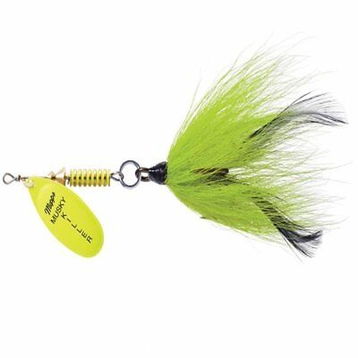 Mepps BM HC-CH Musky Killer In-Line Spinner Bucktail, 3/4 oz, 5/0