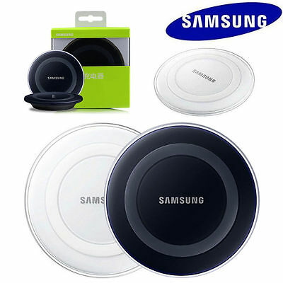 Original Qi Wireless Charging Pad Charger For Samsung Galaxy S6 S7 S8 Note 5V 1A